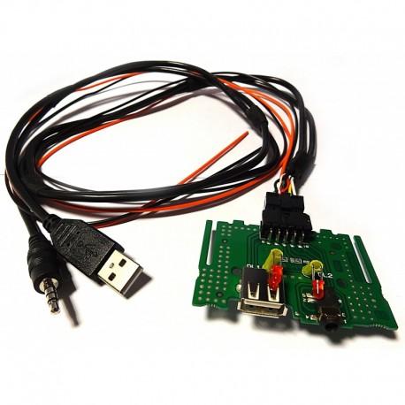 Mantene USB original al cambiar el estereo KIA y Hyundai