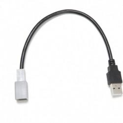 Mantene USB original al cambiar el estereo Toyota