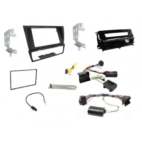 Kit Interface Comando Volante , Marco Adaptador Y Adaptador Antena BMW 3 Series