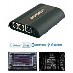 Gateway Pro BT, manos libres Bluetooth con interface iPod/iPhone Audi (conector ISO)