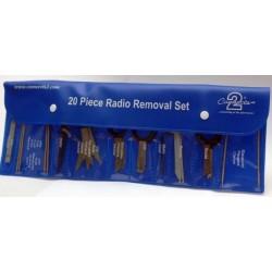 Llaves para desmontar estéreos 22UV03