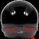 Luz de seguridad para casco de moto 8 leds