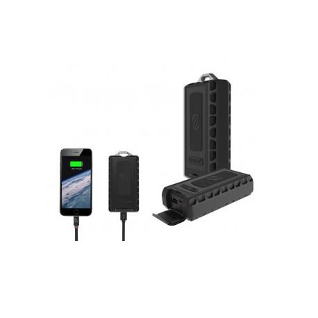 Bateria portatil (power bank) 6000mAh + cargador de pared