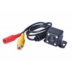 Camara De Marcha Atras Universal RCA con soporte y 4 LEDS- reversa