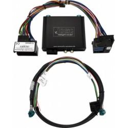 Interface para habilitar y conectar cámara frontal y marcha atras BMW Serie F