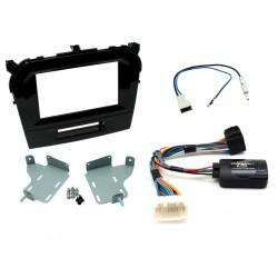 Kit Interface Comando Volante , Marco Adaptador Y Adaptador Antena Mercedes Benz Clase C