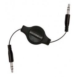 Cable jack 3.5mm a 3.5mm auxiliar retractil 91cm Scosche E2 EIU3.5F