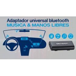 Solucion Bluetooth y Manos Libres para estéreos con FM o Entrada Auxiliar