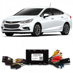 Interface video + entrada camara + entradas AV + salida pantallas Chevrolet Cruze S10 my link ft-lvds-gm