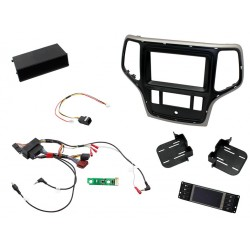 Kit Interface Comando Volante , Marco Adaptador, Adaptador Antena Jeep Grand Cherokee KPJP02