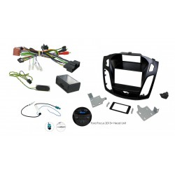 Kit Interface Volante + Marco Adaptador + Ad Antena Focus 3