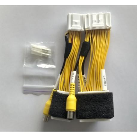 Cable conexión Toyota de A/V o cámara de visión trasera para pantallas Toyota Touch y Scion Bespoke 858505
