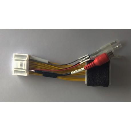 Cable para conectar las cámaras y otros dispositivos de video a las pantallas originales para Renault 859366