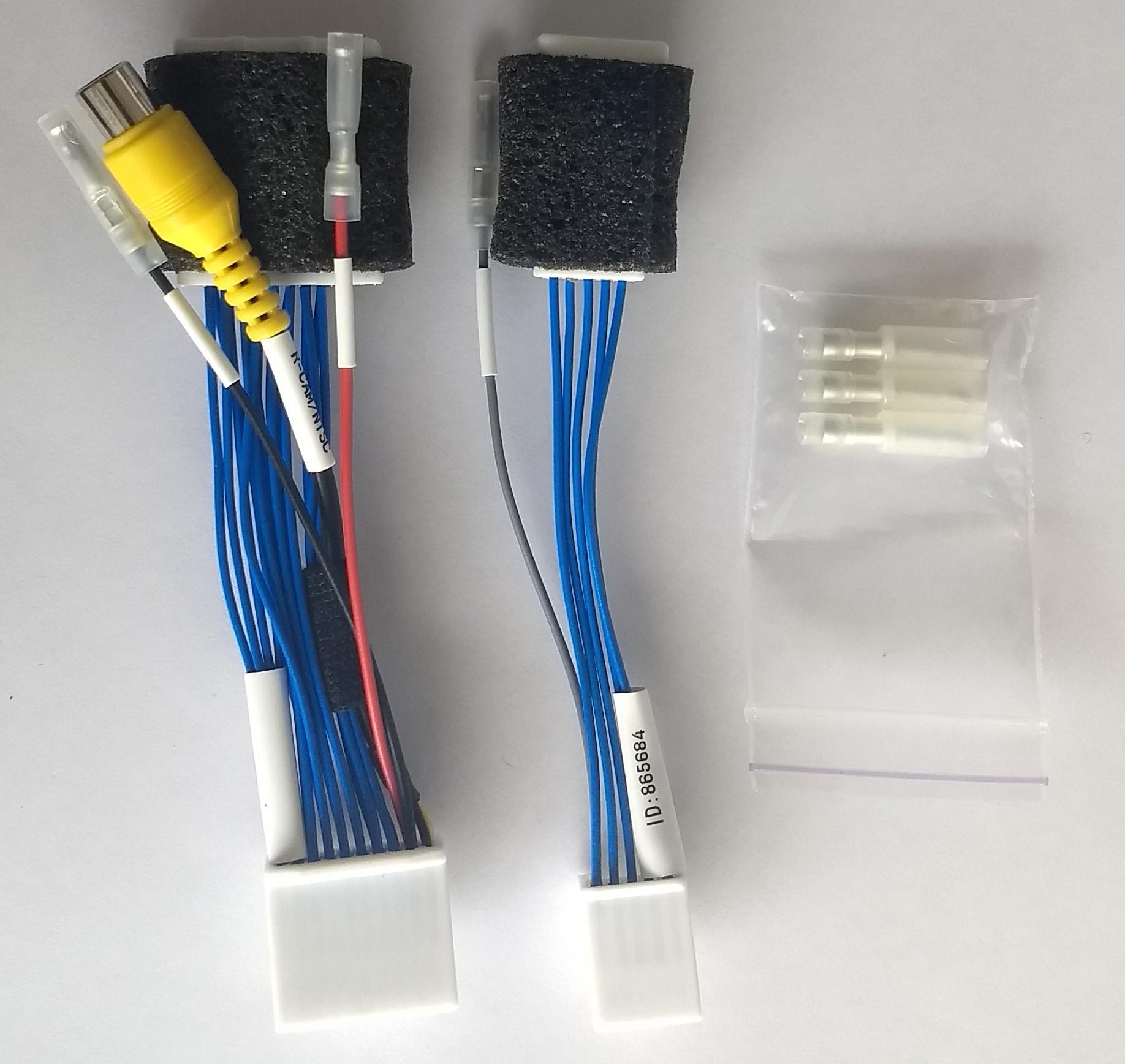 Cable de la c/ámara trasera del coche Cable del adaptador de la c/ámara