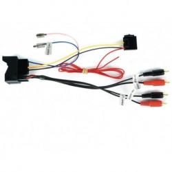 Interface para retener el amplificador de fábrica Audi 51AU05