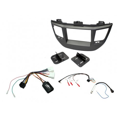 Kit Marco adaptador Estereo + Interface + Adaptador antena Hyundai Tucson KHY20