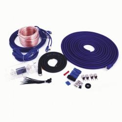 Kit cables conexion InstalBay Amplificador 1800W con Cables de interconexión y portafusibles ANL AK4ANL