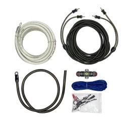 Kit cables conexion Raptor Amplificador 1500W con Cables RCA R5AK4