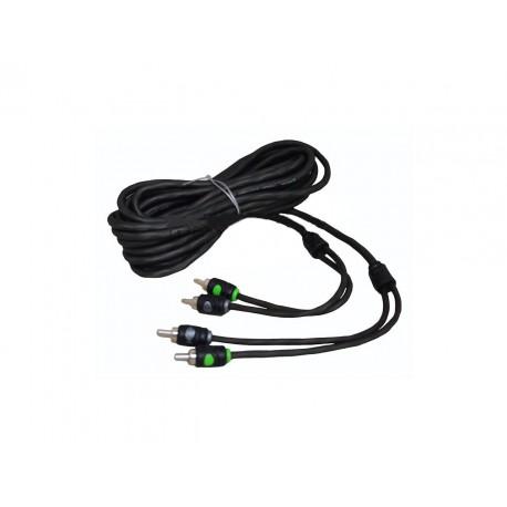 Cable RCA de dos canales 6mts Raptor R5RCA20