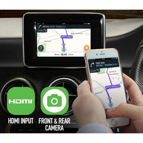 Interface de video entrada HDMI y camaras Audi A3 A4 ADVM-AU1