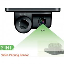 Camara Marcha Atras y sensor estacionamiento sonido MR2IN1