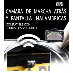 Camara de marcha atras y pantalla inalambrica - Universal CAM-KIT12