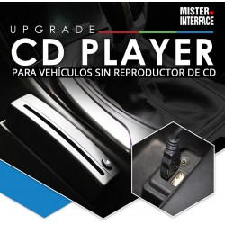 REPRODUCTOR DE CD VIA USB - para vehículos sin CD player lector ADV-USBCD