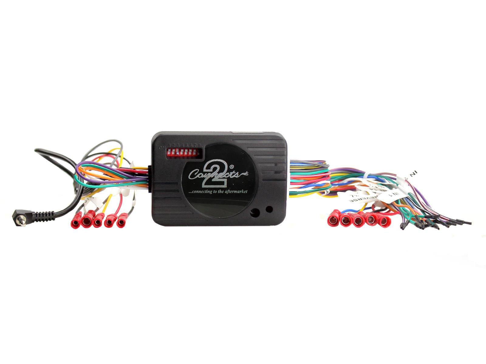 Ford Focus 2004-2011 Jvc AUTO ESTÉREO Volante Interface Adapter Kit