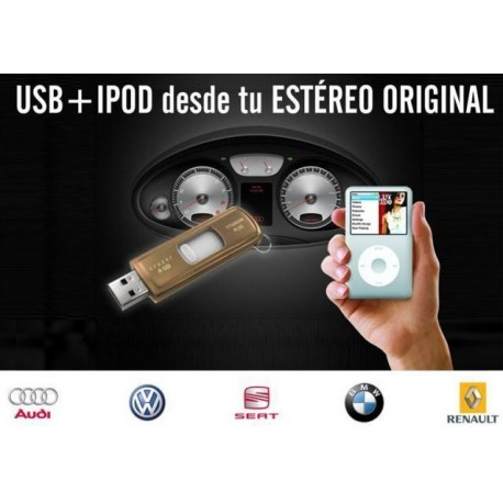 Interface Dension Gateway Lite USB Renault