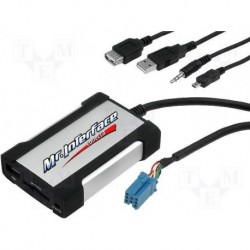 Interface para crear una entrada USB Vw