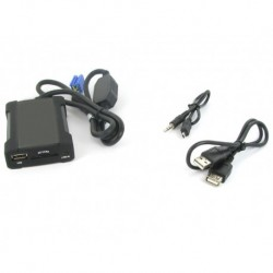 Interface Entrada USB SD auxiliar Peugeot
