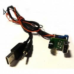 Mantene USB original al cambiar el estereo Fiat y Alfa Romeo